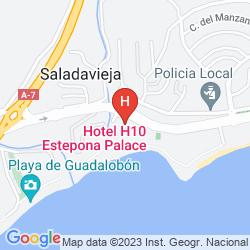 Mapa H10 ESTEPONA PALACE