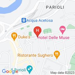 Mapa GRAND HOTEL HERMITAGE