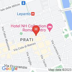 Mapa NH COLLECTION ROMA CENTRO