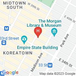 Mapa 373 FIFTH AVENUE