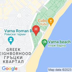Mapa HOTEL PLISKA