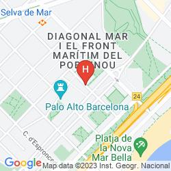 Mapa ATTICA 21 BARCELONA MAR