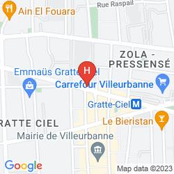 Mapa ARIANA