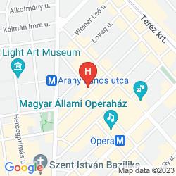 Mapa OPERA GARDEN HOTEL & APARTMENTS