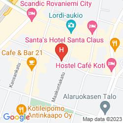 Mapa ARCTIC CITY