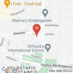Mapa KEFALARI SUITES