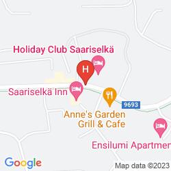 Mapa HOLIDAY CLUB SAARISELKA