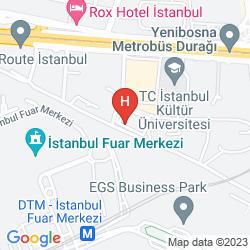 Mapa WOW AIRPORT