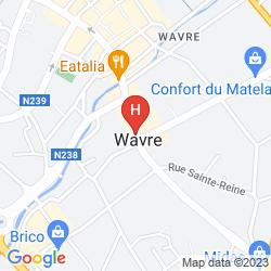 Mapa AT HOME HOTEL
