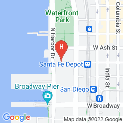 Mapa WYNDHAM SAN DIEGO BAYSIDE