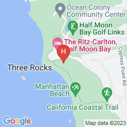 Mapa RITZ CARLTON, HALF MOON BAY