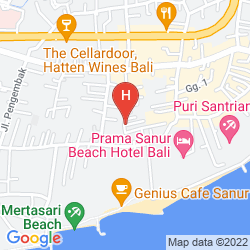 Mapa SANUR BEACH