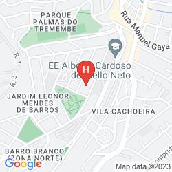 Mapa BOURBON SAO PAULO BUSINESS