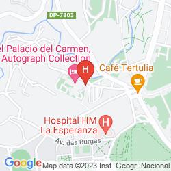 Mapa PALACIO DEL CARMEN, AUTOGRAPH COLLECTION