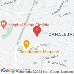 Mapa NH CIUDAD DE SANTANDER