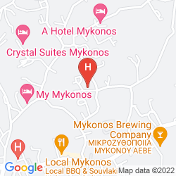 Mapa A HOTEL MYKONOS