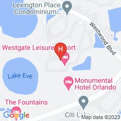 Mapa WESTGATE LEISURE