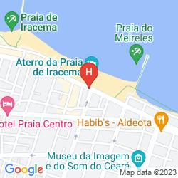 Mapa FLAT CLASSIC HOTELARIA