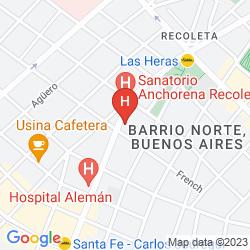 Mapa ART SUITES