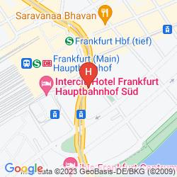 Mapa COLOUR HOTEL
