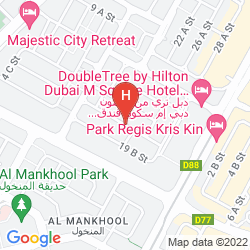 Mapa XCLUSIVE HOTEL APARTMENTS