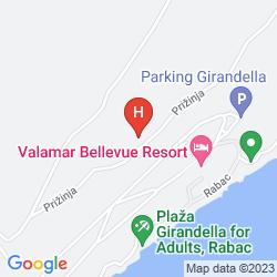 Mapa ALBONA HOTEL & RESIDENCE