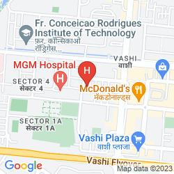 Mapa THE PARK NAVI MUMBAI