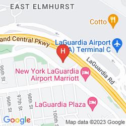 Mapa ALOFT NEW YORK LAGUARDIA AIRPORT