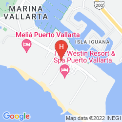 Mapa THE WESTIN RESORT & SPA, PUERTO VALLARTA