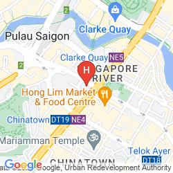 Mapa FURAMA CITY CENTRE