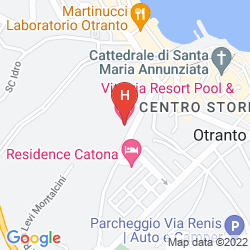 Mapa VITTORIA RESORT & SPA