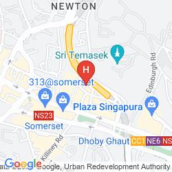 Mapa HOLIDAY INN SINGAPORE ORCHARD CITY CENTRE
