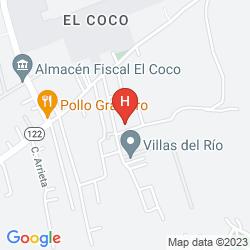 Mapa WYNDHAM SAN JOSE HERRADURA