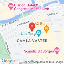 Mapa ELITE HOTEL ESPLANADE