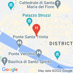 Mapa NH COLLECTION FIRENZE PORTA ROSSA