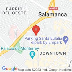 Mapa SILKEN RONA DALBA