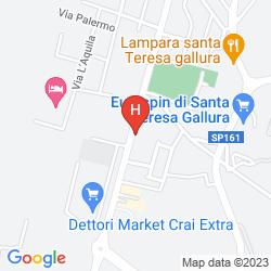 Mapa HOTEL LA FUNTANA