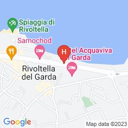 Mapa ACQUAVIVA DEL GARDA