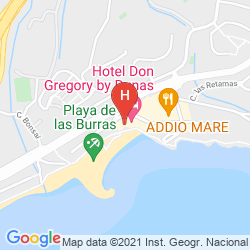 Mapa DON GREGORY BY DUNAS ONLY ADULTS