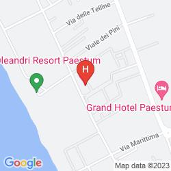 Mapa OLEANDRI RESORT