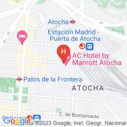Mapa AC ATOCHA BY MARRIOTT