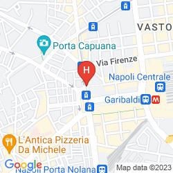 Mapa NAPOLI CENTRALE