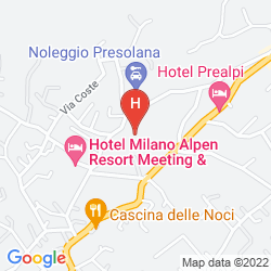 Mapa PREALPI