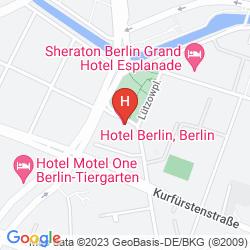 Mapa BERLIN, BERLIN