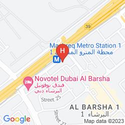 Mapa CASSELLS AL BARSHA