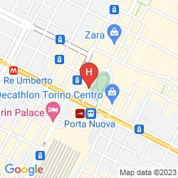 Mapa ROMA E ROCCA CAVOUR