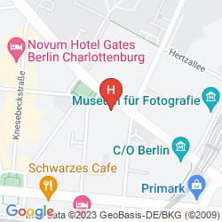 Mapa WYNDHAM BERLIN EXCELSIOR
