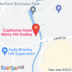 Mapa COPTHORNE HOTEL MERRY HILL DUDLEY