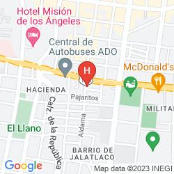 Mapa SUITES BELLO XOCHIMILCO