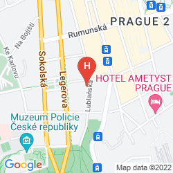 Mapa OLD TIME HOTEL PRAGUE